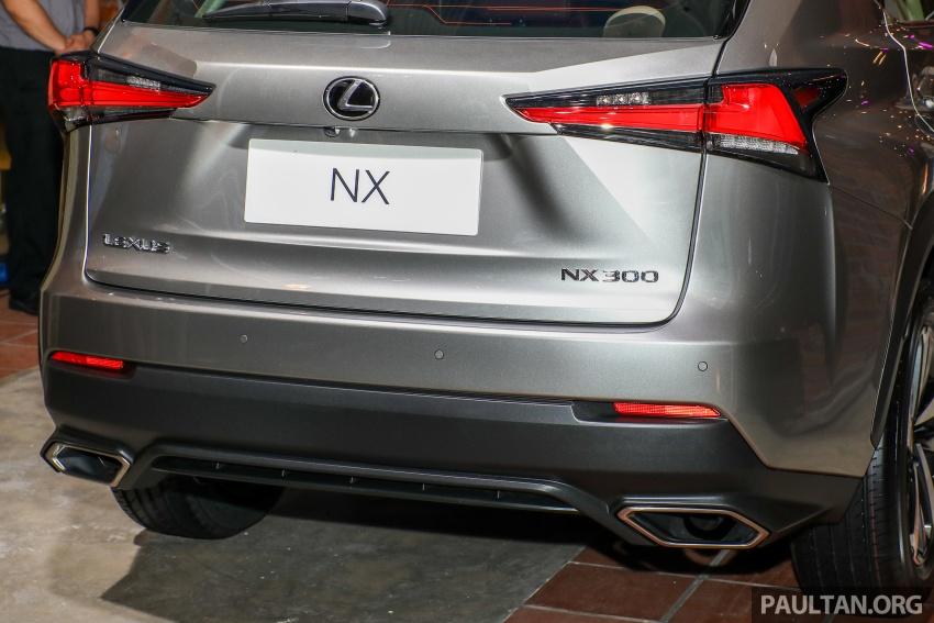 Lexus RX 350L dan NX 300 2018 kini dipertontonkan di Malaysia – harga bermula dari RM312k hingga RM475k Image #770402