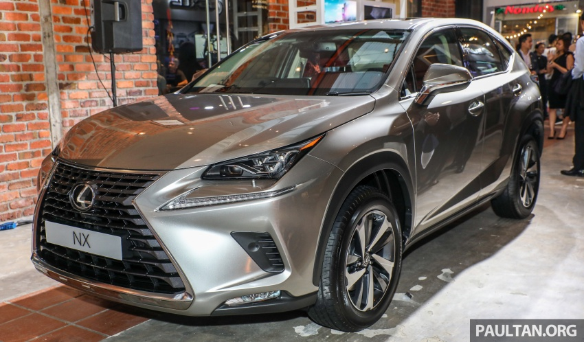 Lexus Malaysia previews RX 350L seven-seater, updated NX 300 facelift range – SUVs from RM312k Image #770307