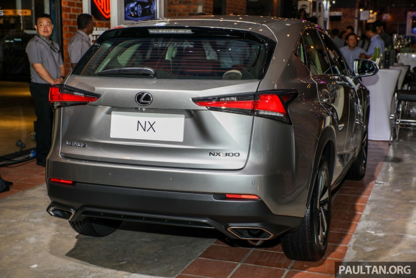 Lexus Malaysia previews RX 350L seven-seater, updated NX 300 facelift range – SUVs from RM312k Image #770308