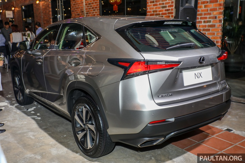 Lexus Malaysia previews RX 350L seven-seater, updated NX 300 facelift range – SUVs from RM312k Image #770309