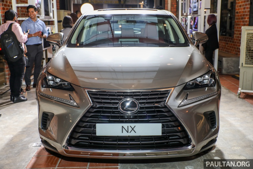 Lexus RX 350L dan NX 300 2018 kini dipertontonkan di Malaysia – harga bermula dari RM312k hingga RM475k Image #770386