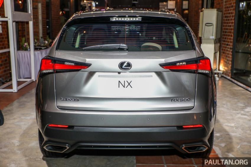 Lexus Malaysia previews RX 350L seven-seater, updated NX 300 facelift range – SUVs from RM312k Image #770312