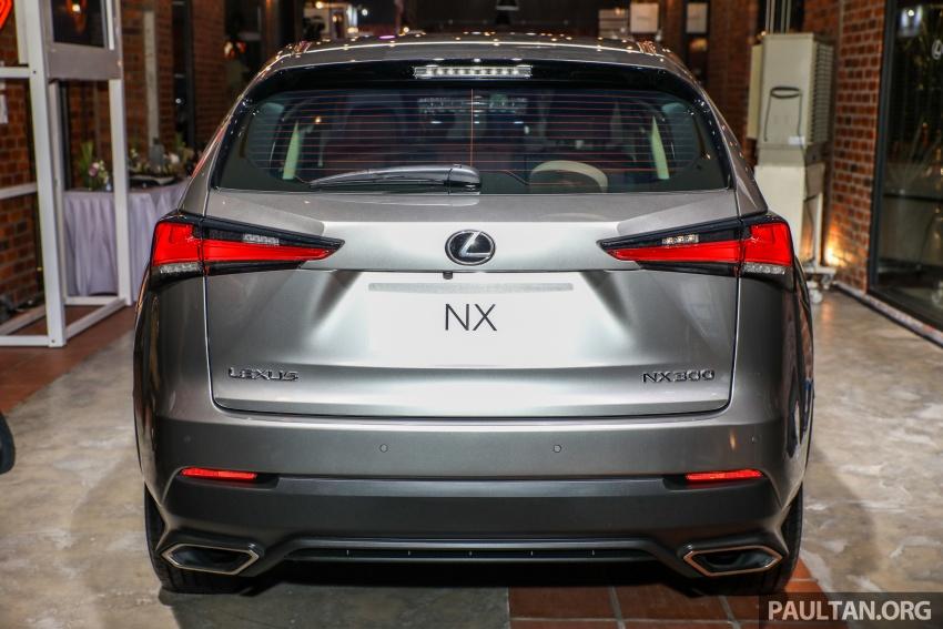 Lexus RX 350L dan NX 300 2018 kini dipertontonkan di Malaysia – harga bermula dari RM312k hingga RM475k Image #770387