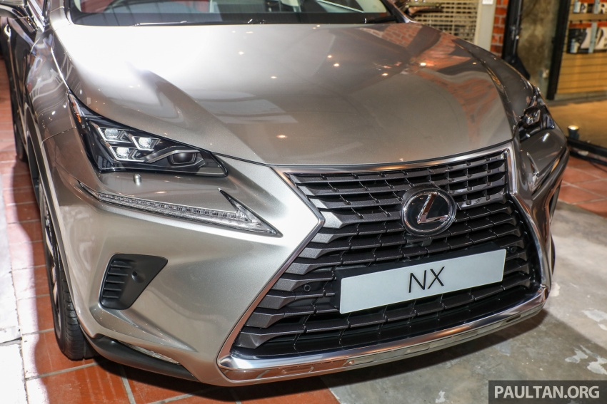 Lexus Malaysia previews RX 350L seven-seater, updated NX 300 facelift range – SUVs from RM312k Image #770313