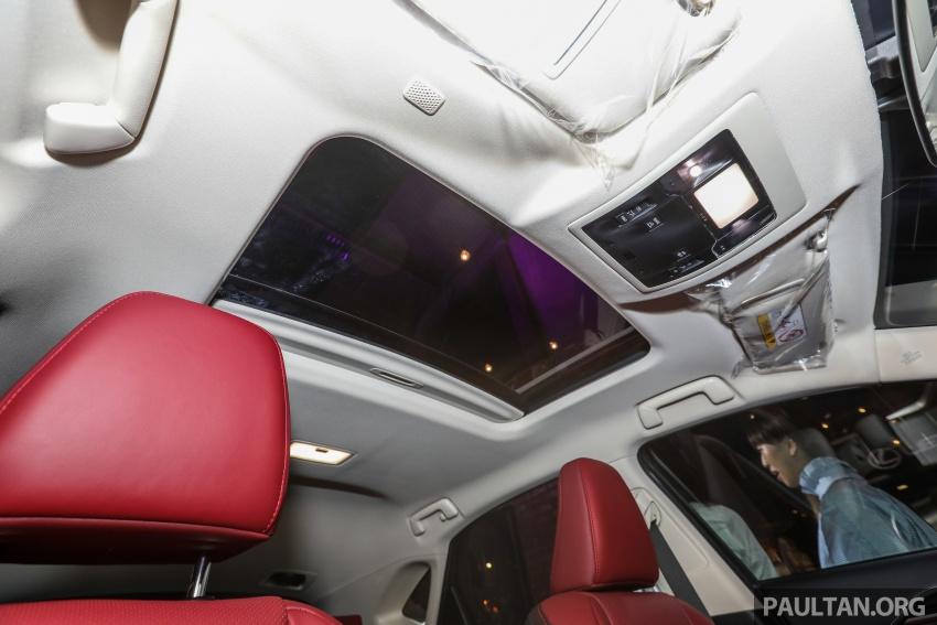 Lexus RX 350L dan NX 300 2018 kini dipertontonkan di Malaysia – harga bermula dari RM312k hingga RM475k Image #770430