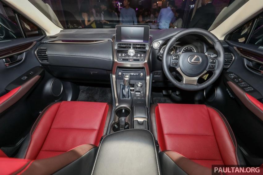 Lexus RX 350L dan NX 300 2018 kini dipertontonkan di Malaysia – harga bermula dari RM312k hingga RM475k Image #770413