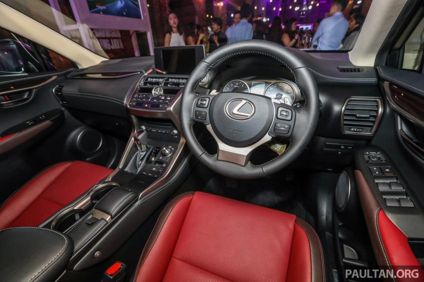 Lexus RX 350L dan NX 300 2018 kini dipertontonkan di Malaysia – harga bermula dari RM312k hingga RM475k Image #770433