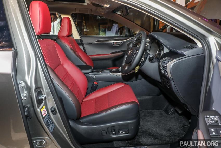 Lexus RX 350L dan NX 300 2018 kini dipertontonkan di Malaysia – harga bermula dari RM312k hingga RM475k Image #770436