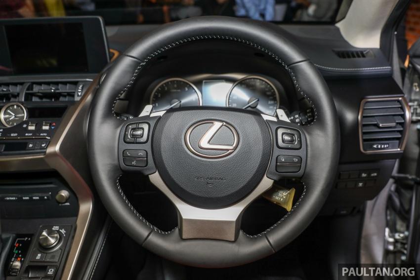 Lexus RX 350L dan NX 300 2018 kini dipertontonkan di Malaysia – harga bermula dari RM312k hingga RM475k Image #770415