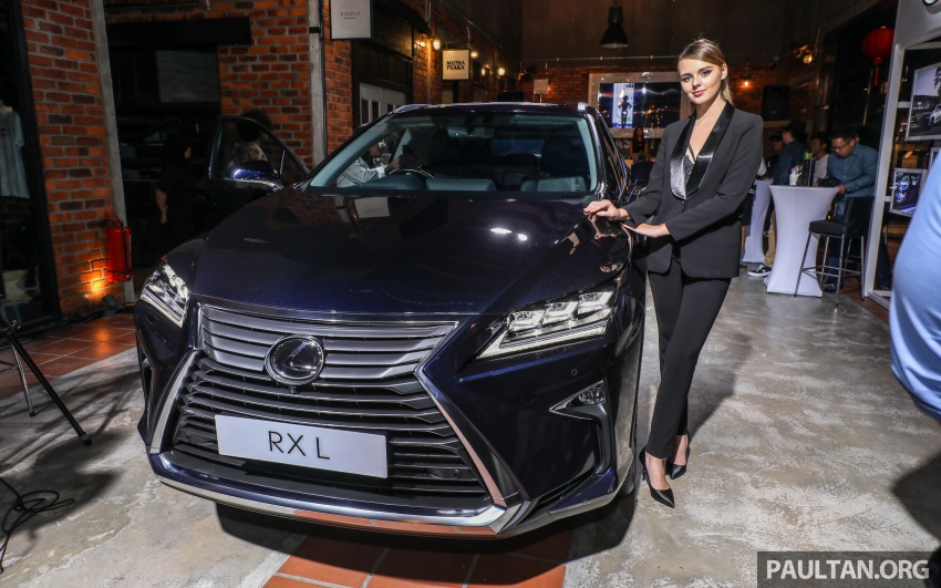 Lexus Malaysia previews RX 350L seven-seater, updated NX 300 facelift range – SUVs from RM312k Image #770213
