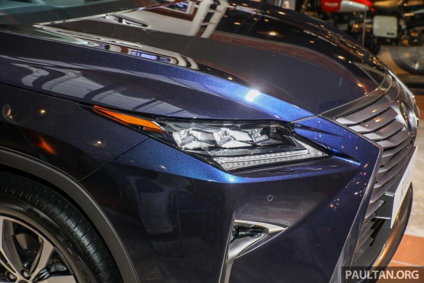 Lexus RX 350L dan NX 300 2018 kini dipertontonkan di Malaysia – harga bermula dari RM312k hingga RM475k Image #770464