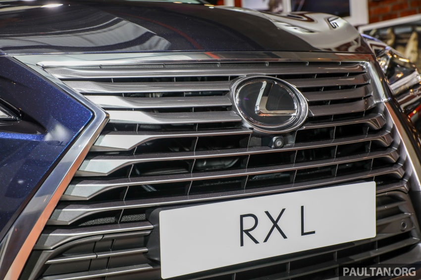 Lexus Malaysia previews RX 350L seven-seater, updated NX 300 facelift range – SUVs from RM312k Image #770225
