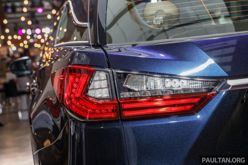Lexus Malaysia previews RX 350L seven-seater, updated NX 300 facelift range – SUVs from RM312k Image #770236