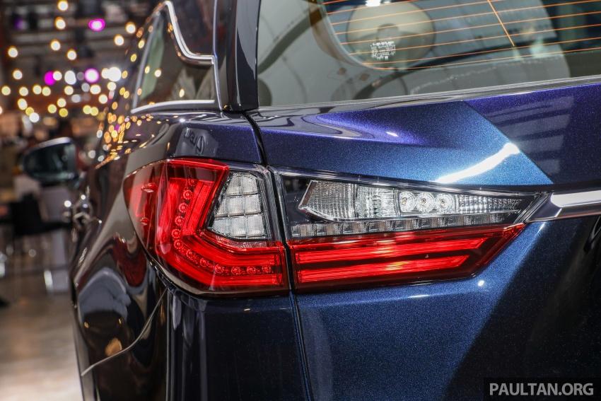 Lexus RX 350L dan NX 300 2018 kini dipertontonkan di Malaysia – harga bermula dari RM312k hingga RM475k Image #770477