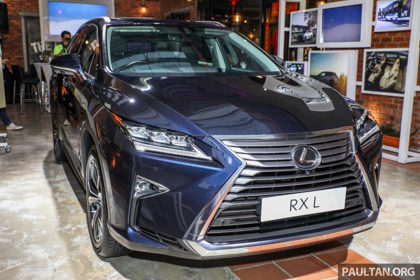 Lexus RX 350L dan NX 300 2018 kini dipertontonkan di Malaysia – harga bermula dari RM312k hingga RM475k Image #770455