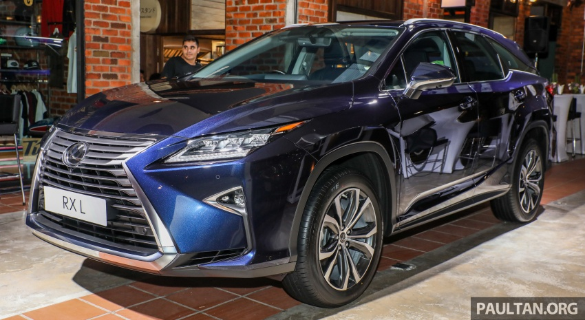 Lexus Malaysia previews RX 350L seven-seater, updated NX 300 facelift range – SUVs from RM312k Image #770215