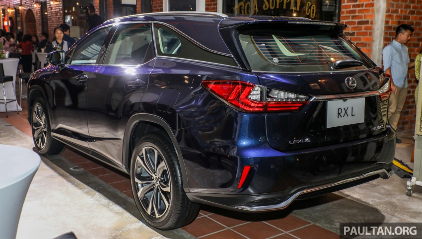 Lexus Malaysia previews RX 350L seven-seater, updated NX 300 facelift range – SUVs from RM312k Image #770217