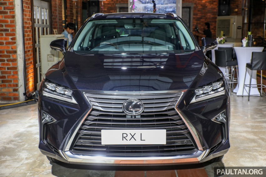 Lexus Malaysia previews RX 350L seven-seater, updated NX 300 facelift range – SUVs from RM312k Image #770219