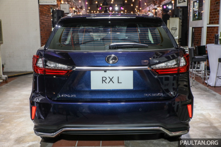 Lexus Malaysia previews RX 350L seven-seater, updated NX 300 facelift range – SUVs from RM312k Image #770220