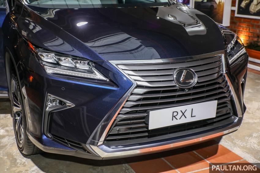 Lexus RX 350L dan NX 300 2018 kini dipertontonkan di Malaysia – harga bermula dari RM312k hingga RM475k Image #770462