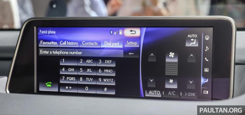 Lexus RX 350L dan NX 300 2018 kini dipertontonkan di Malaysia – harga bermula dari RM312k hingga RM475k Image #770497