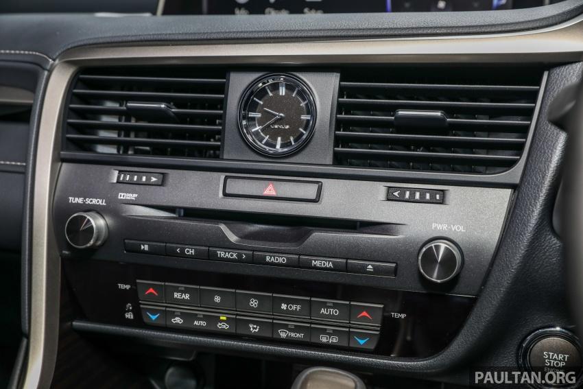 Lexus RX 350L dan NX 300 2018 kini dipertontonkan di Malaysia – harga bermula dari RM312k hingga RM475k Image #770499
