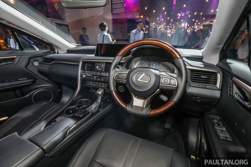 Lexus Malaysia previews RX 350L seven-seater, updated NX 300 facelift range – SUVs from RM312k Image #770269