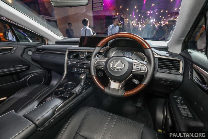 Lexus RX 350L dan NX 300 2018 kini dipertontonkan di Malaysia – harga bermula dari RM312k hingga RM475k Image #770509