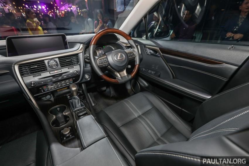 Lexus RX 350L dan NX 300 2018 kini dipertontonkan di Malaysia – harga bermula dari RM312k hingga RM475k Image #770511