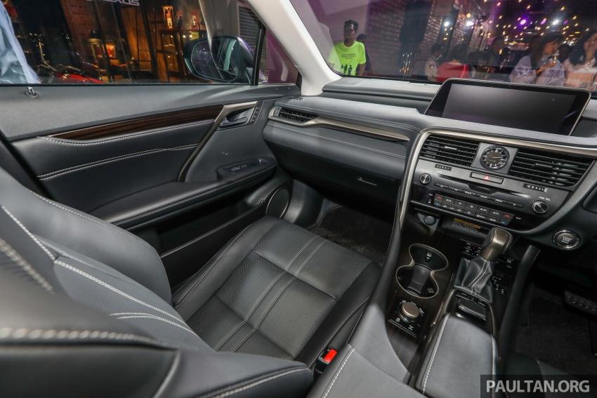 Lexus RX 350L dan NX 300 2018 kini dipertontonkan di Malaysia – harga bermula dari RM312k hingga RM475k Image #770512
