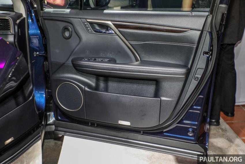 Lexus RX 350L dan NX 300 2018 kini dipertontonkan di Malaysia – harga bermula dari RM312k hingga RM475k Image #770520