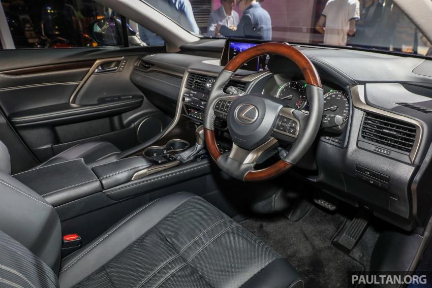 Lexus RX 350L dan NX 300 2018 kini dipertontonkan di Malaysia – harga bermula dari RM312k hingga RM475k Image #770488