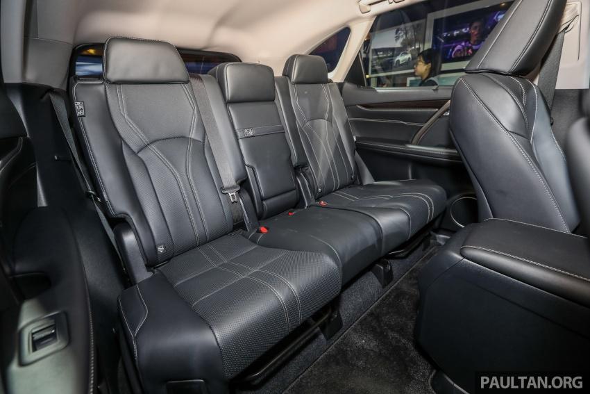 Lexus RX 350L dan NX 300 2018 kini dipertontonkan di Malaysia – harga bermula dari RM312k hingga RM475k Image #770526