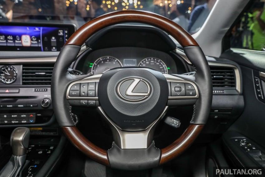 Lexus RX 350L dan NX 300 2018 kini dipertontonkan di Malaysia – harga bermula dari RM312k hingga RM475k Image #770489