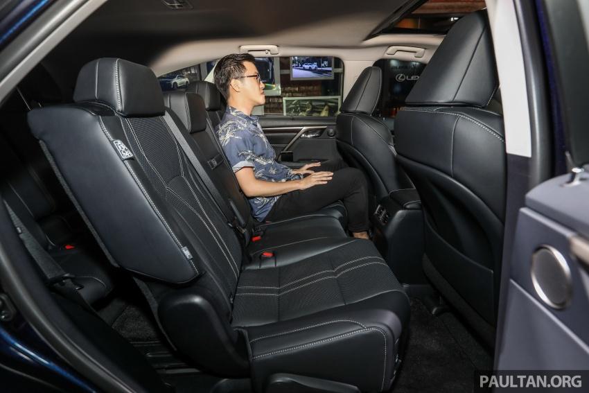 Lexus RX 350L dan NX 300 2018 kini dipertontonkan di Malaysia – harga bermula dari RM312k hingga RM475k Image #770535