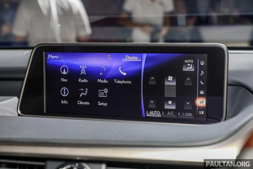 Lexus RX 350L dan NX 300 2018 kini dipertontonkan di Malaysia – harga bermula dari RM312k hingga RM475k Image #770494