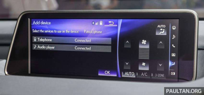 Lexus RX 350L dan NX 300 2018 kini dipertontonkan di Malaysia – harga bermula dari RM312k hingga RM475k Image #770495