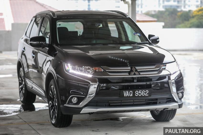 GALERI: Mitsubishi Outlander 2.4L CKD – RM155k Image #762658