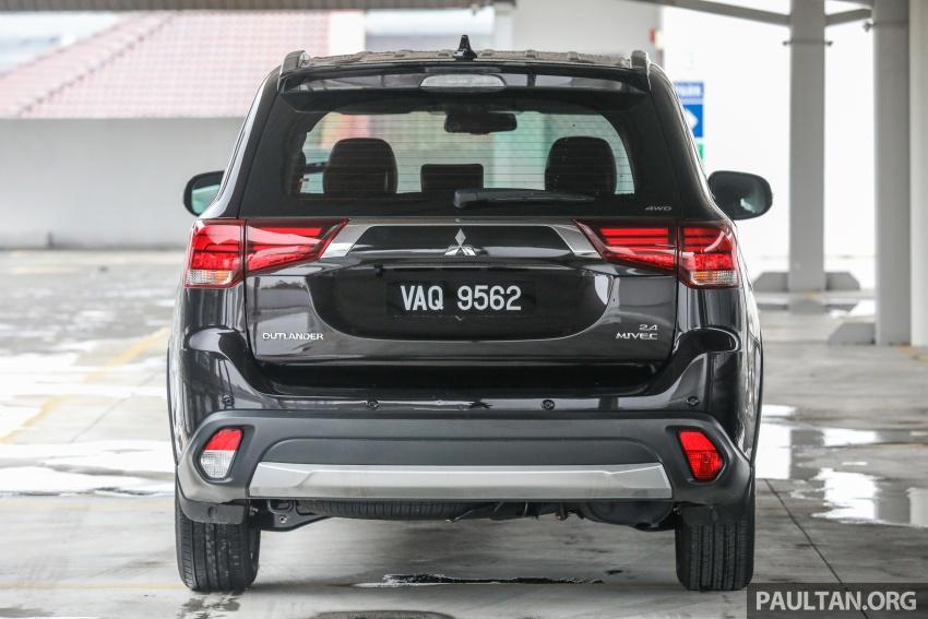 GALERI: Mitsubishi Outlander 2.4L CKD – RM155k Image #762670