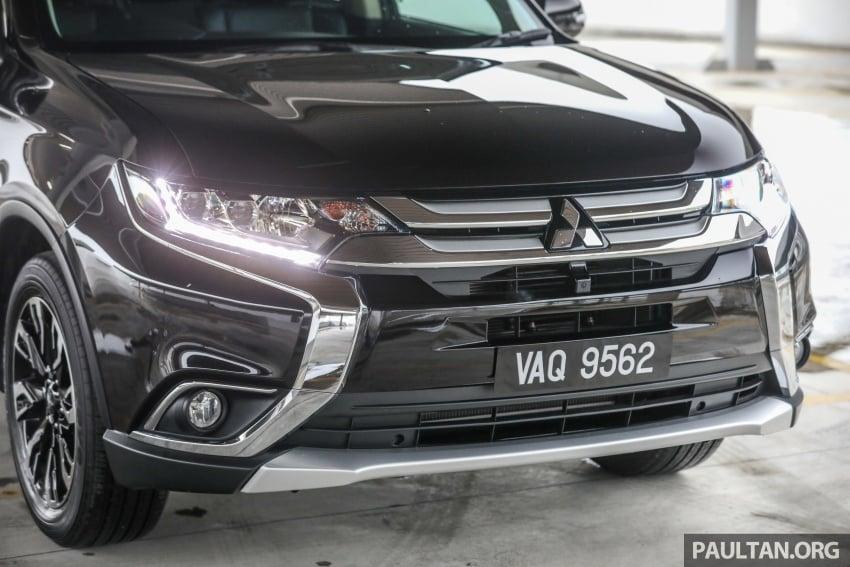 GALERI: Mitsubishi Outlander 2.4L CKD – RM155k Image #762672