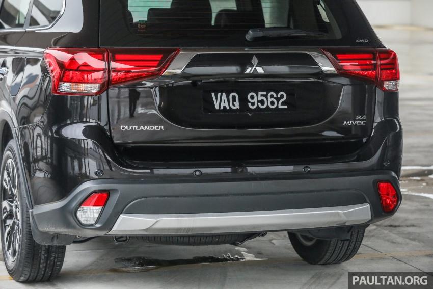 GALERI: Mitsubishi Outlander 2.4L CKD – RM155k Image #762685