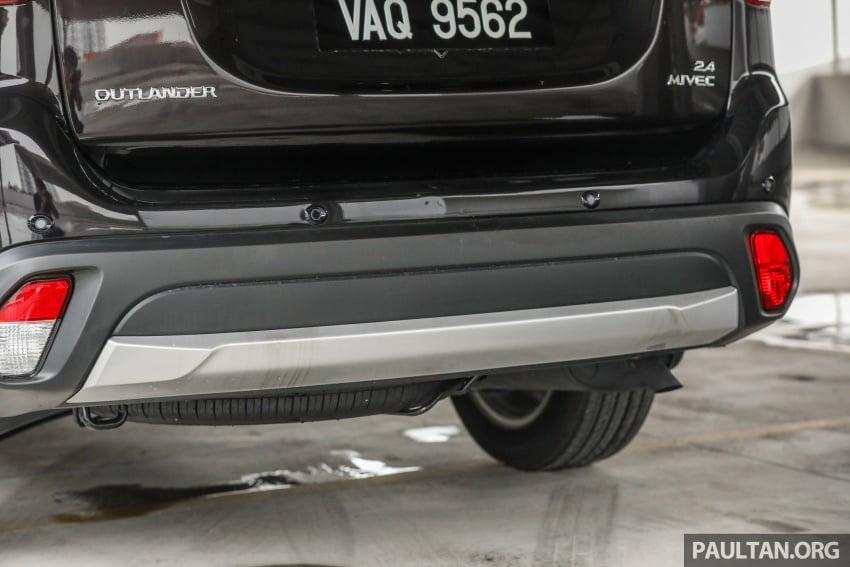 GALERI: Mitsubishi Outlander 2.4L CKD – RM155k Image #762689