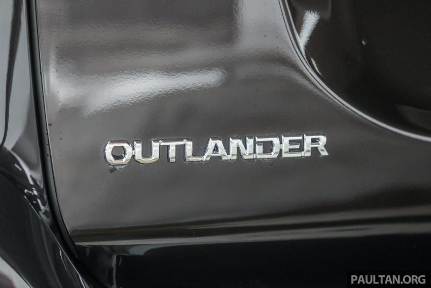 GALERI: Mitsubishi Outlander 2.4L CKD – RM155k Image #762691