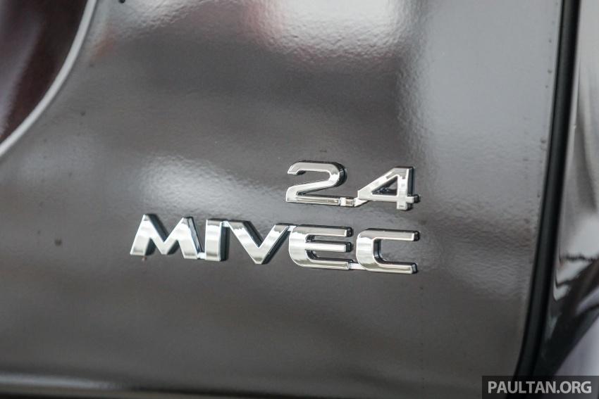 GALERI: Mitsubishi Outlander 2.4L CKD – RM155k Image #762692