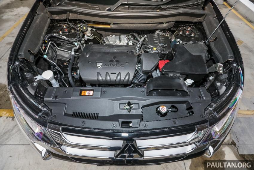 GALERI: Mitsubishi Outlander 2.4L CKD – RM155k Image #762695