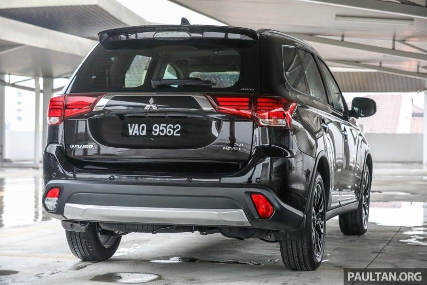 GALERI: Mitsubishi Outlander 2.4L CKD – RM155k Image #762662