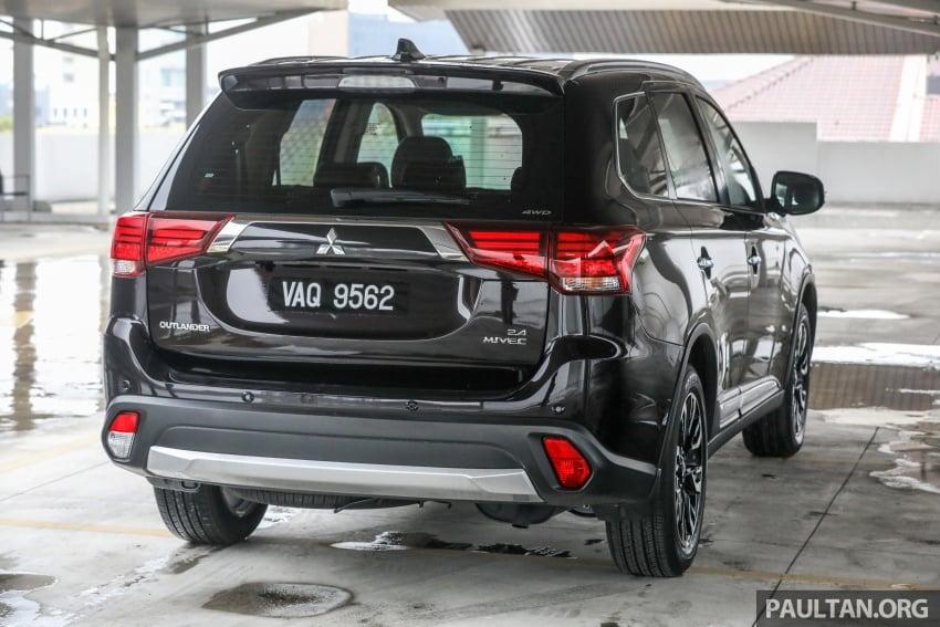GALLERY: Mitsubishi Outlander 2.4 CKD – RM155k Image #769630