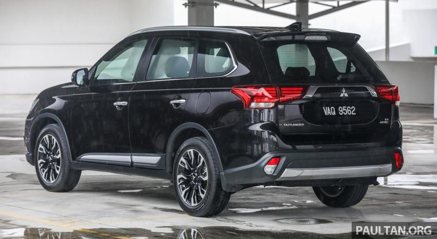 GALERI: Mitsubishi Outlander 2.4L CKD – RM155k Image #762664