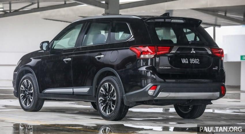 GALERI: Mitsubishi Outlander 2.4L CKD – RM155k Image #762665