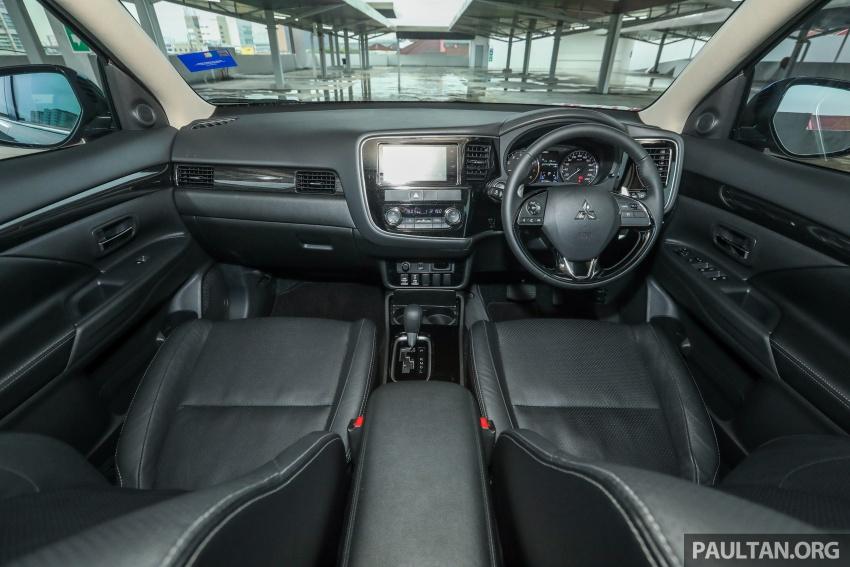 GALERI: Mitsubishi Outlander 2.4L CKD – RM155k Image #762697